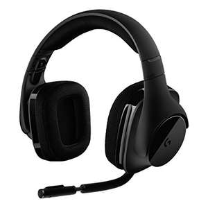 Casque Gaming Sans-fil Logitech G533 - DTS 7.1, Surround