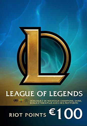 Carte-cadeau Prépayée League of Legends - 100€ / 15000 RP (Dématérialisée)