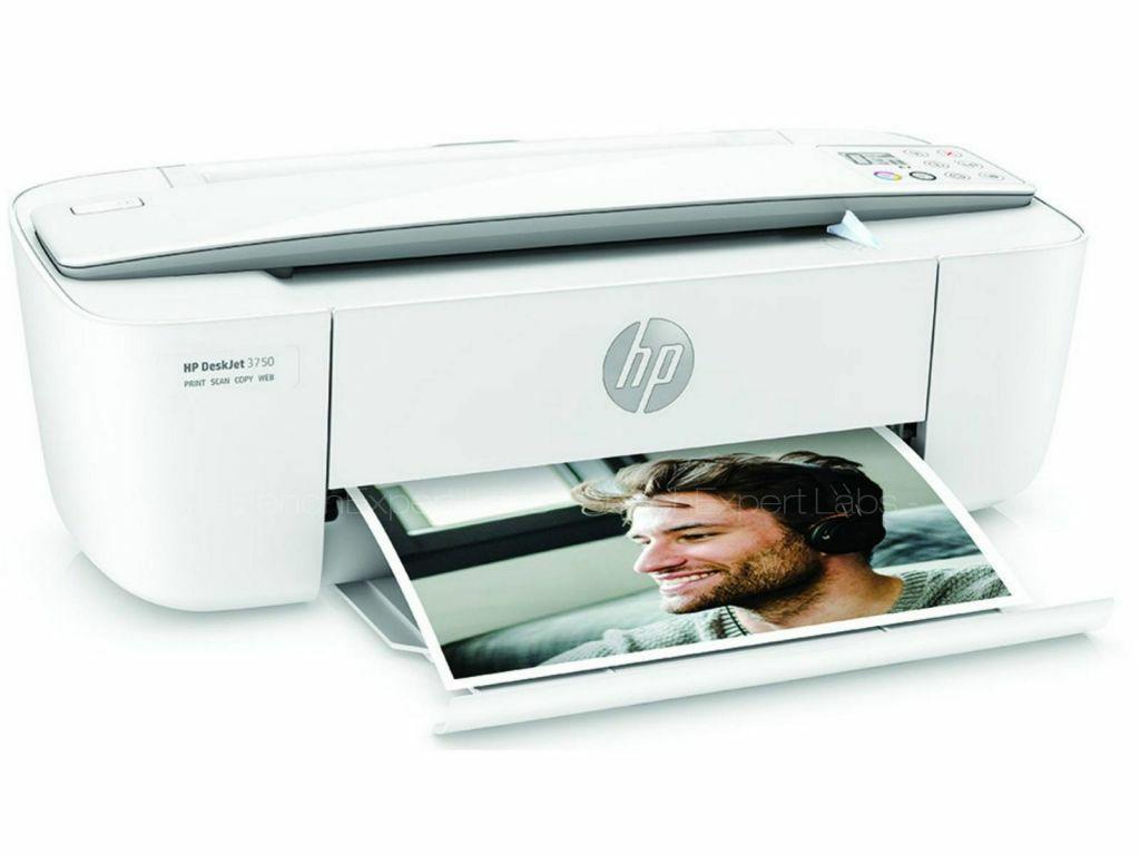 Imprimante compacte multifonctions HP Deskjet 3750 + 10€ Instant Ink (Via ODR de 20€)