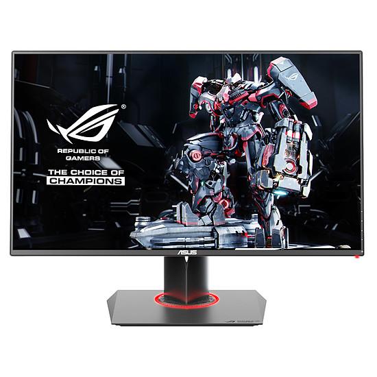 """Ecran PC 27"""" Asus ROG Swift PG278QR - G-sync, TN, 2560 x 1440 (WQHD), 1 ms, 165 Hz, HDMI (x1), DisplayPort (x1), Hub USB 3.0 (x2)"""