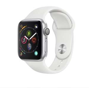 Montre Connectée Apple Watch Series 4 - GPS, 40 mm, Bracelet Sport BLANC
