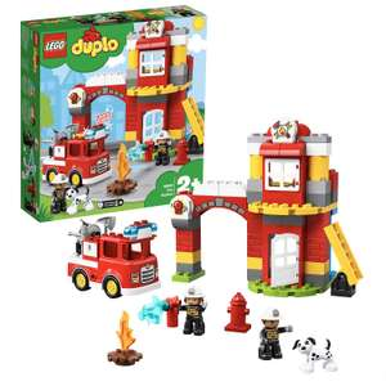 Jeu de construction Lego Duplo : La caserne de pompier n°10903