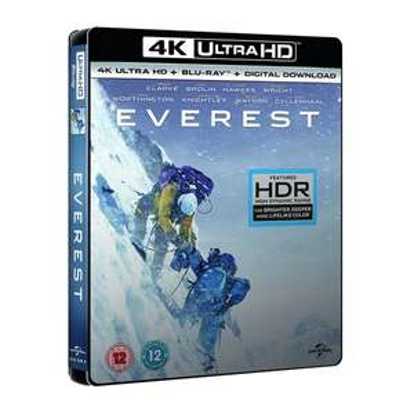 Blu-ray 4K UHD + Blu-ray + Numérique : Everest