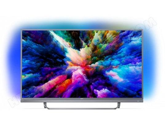 "TV 49"" Philips 49PUS7503/12 - 4K UHD, WiFi, HDR, Ambilight (via ODR de 100€)"