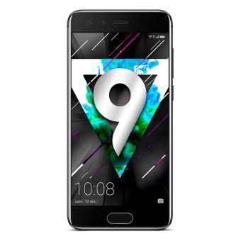 "Smartphone 5"" Honor 9 - Double SIM, 64 Go, Noir"