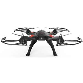 Drone Quadricoptère Radiocommandé R Bird DMS240 Black Master 6 Axes & Gyroscope avec support Mini Caméras - 2000mAh, Portée de 150m