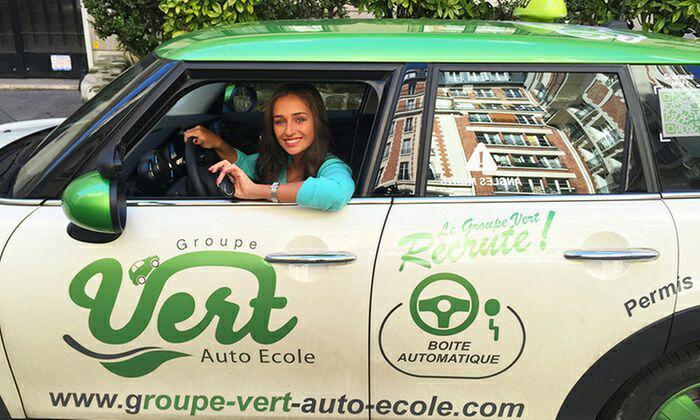 Rosedeal: 600€ à dépenser chez Groupe Vert Auto-école