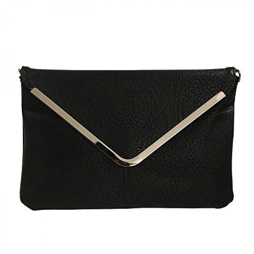 Pochette de soirée Shopping-et-Mode - Noir, Simili-cuir (Vendeur tiers)