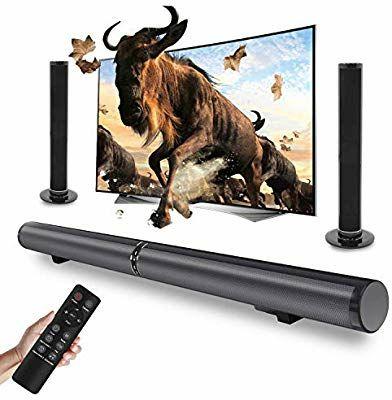 Barre de Son TV séparable Fityou Soundbar LP-1807 - 50W, bluetooth, USB, HDMI, AUX, Optique, 6 HP + 2 basses (Vendeur tiers)