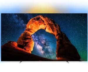 """TV 55"""" Philips 55OLED803 - OLED UHD 4K Ambilight 3 côtés (Via ODR 200€)"""