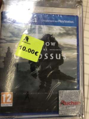 Sélection de jeux PS4 et Xbox One en promotion. Ex: Shadow of the colossus sur PS4 - Semécourt (57)