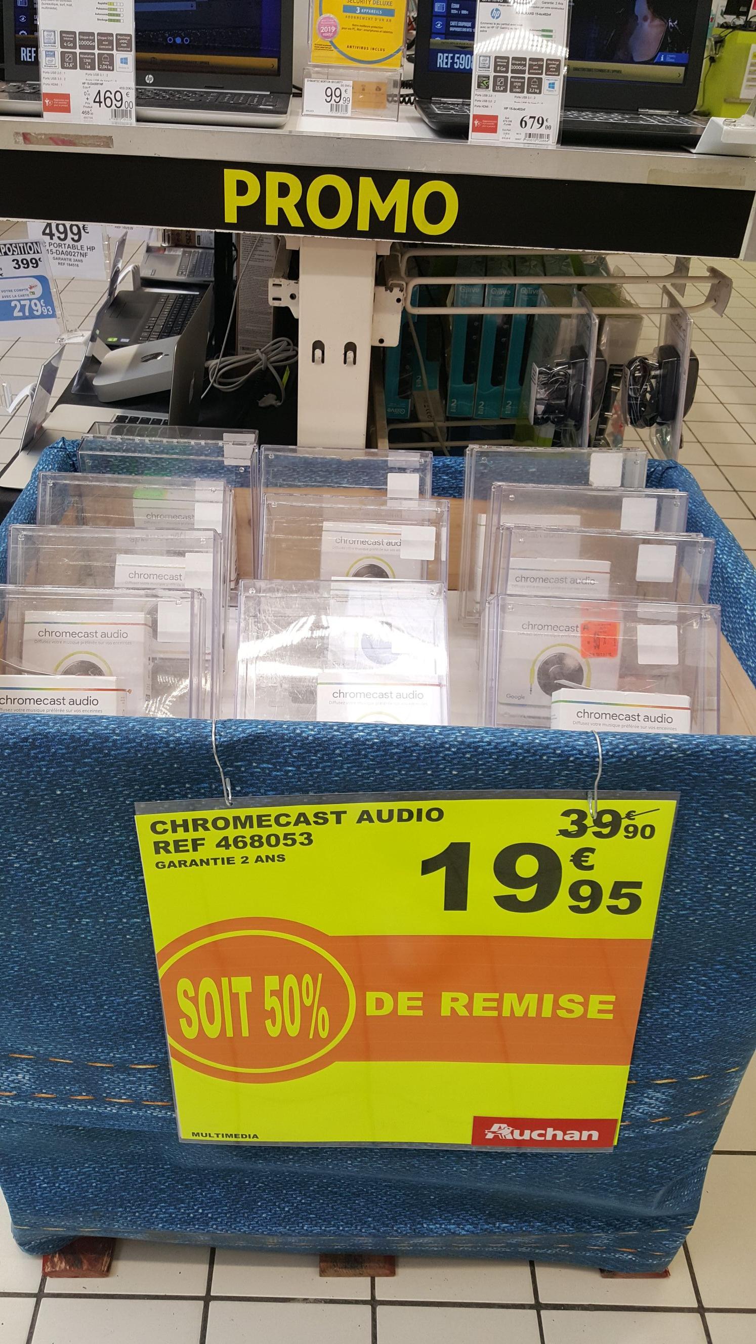 Google Chromecast Audio - Auchan Calais (62)