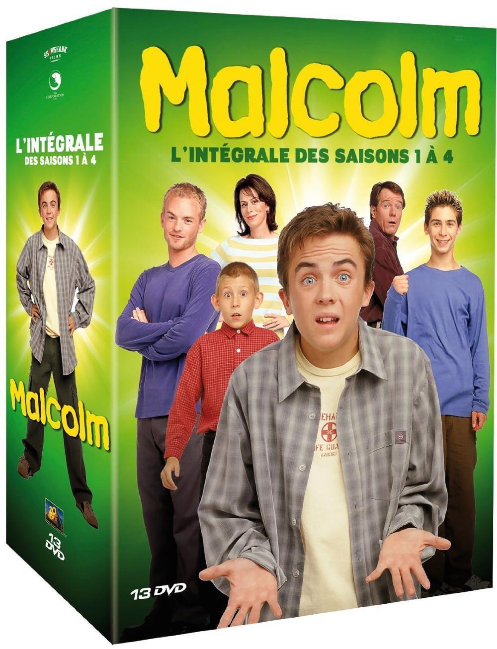 Coffret DVD Malcolm  Saisons 1 à 4