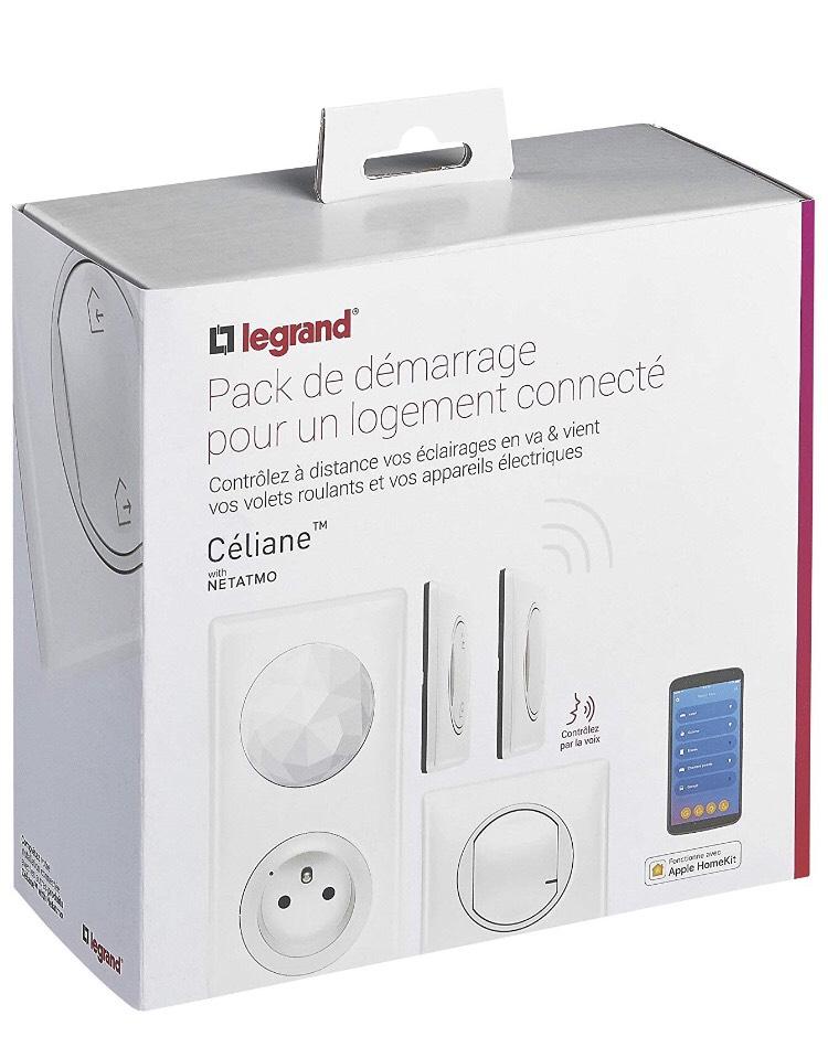 Kit de démarrage pour 1ère pièce Legrand (avec Netatmo) - Blanc