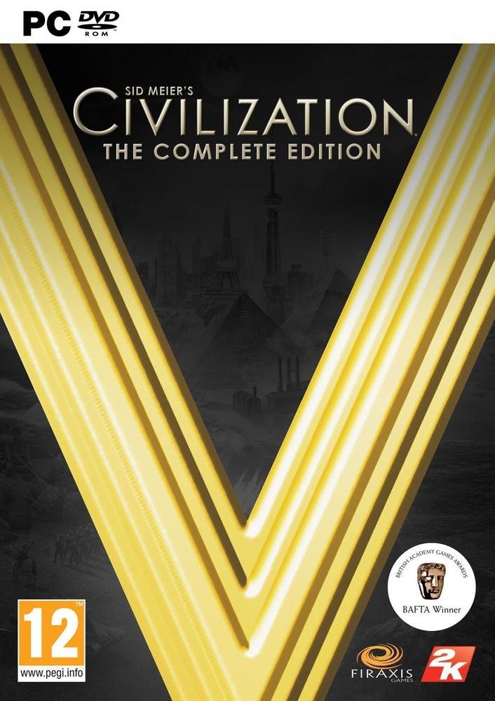 Sélection de jeux en promotion - Ex : Civilization V - Edition Complète sur PC (Dématérialisé - Steam)