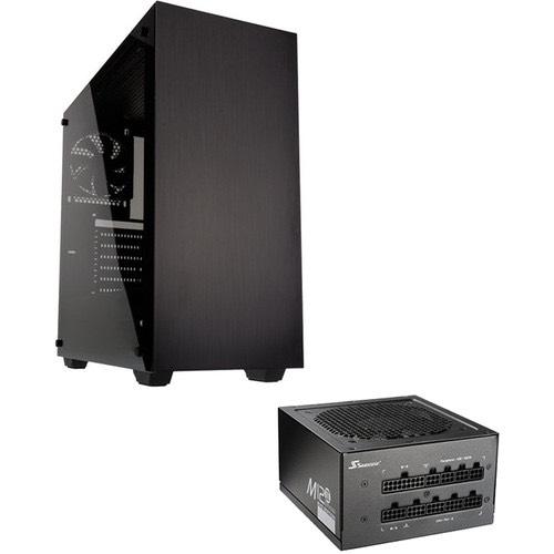 Boitier PC Kolink Stronghold (Noir) + Alimentation Seasonic M12II-620 Evo - 80+ Bronze, 620W