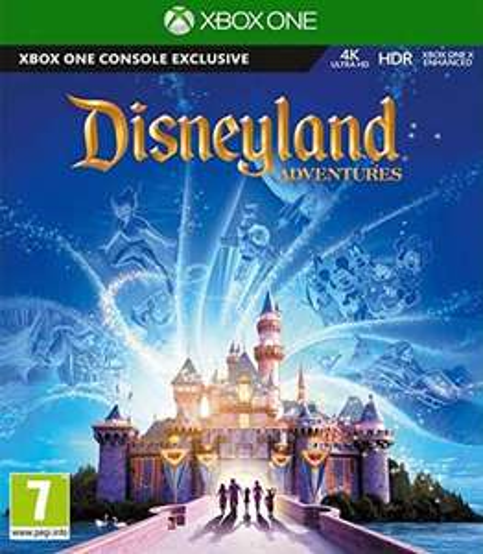 Jeu Disneyland Adventures sur Xbox One