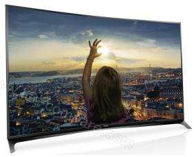 "TV 55"" Panasonic TX-55CR850E - UHD 4K, Incurvée (via ODR de 300€)"