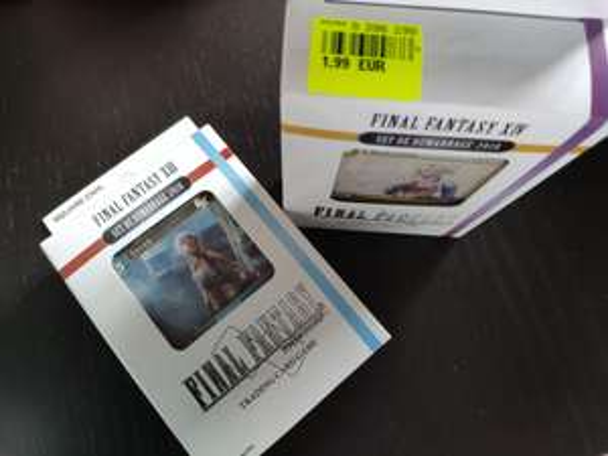 Set de démarrage 2018 Final Fantasy trading card game - Beaune (21)