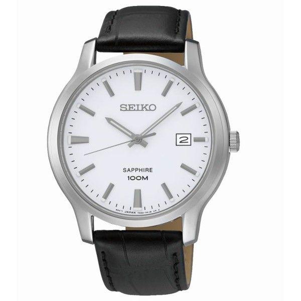 Montre homme Seiko Classique SGEH43P1 - Noire