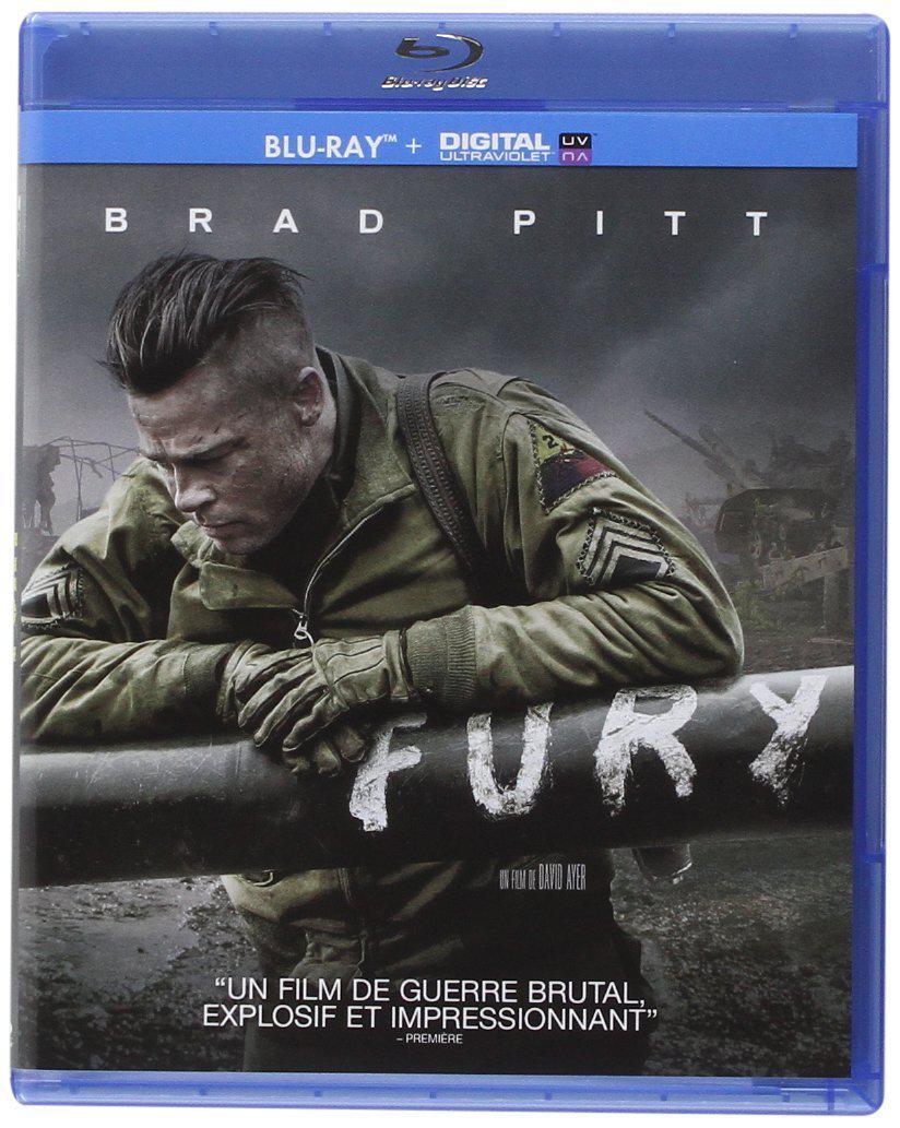 Blu-ray Fury + Copie digitale