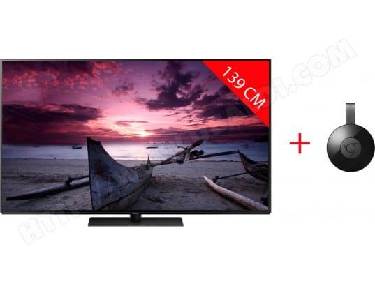 "TV 55"" Panasonic TX55FZ800E - OLED, 4K + Google Chromecast V3"