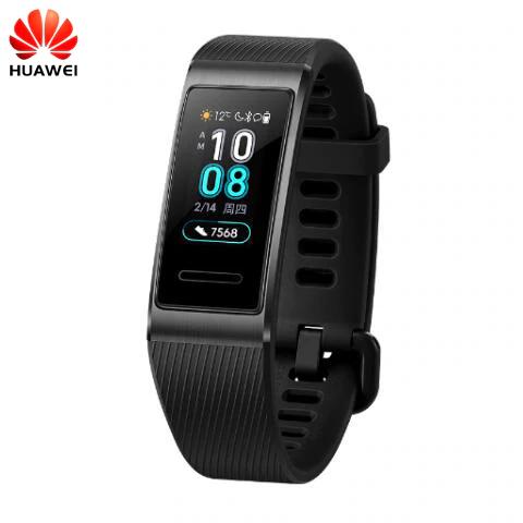 Bracelet Connecté Huawei Band 3 Pro - Noir (36.96€ avec les coupons en description)