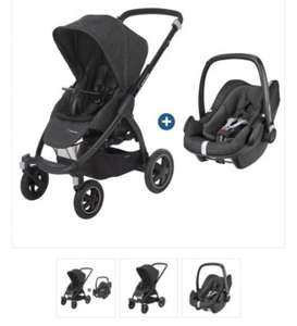 Poussette Bébé Confort Stella + Pebble Plus - Nomad Black