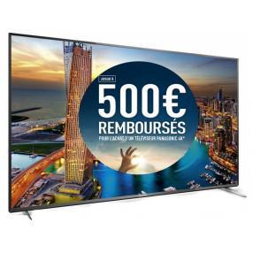 "Téléviseur LED 55"" Panasonic Viera TX-55CX700E - UHD, 3D, Smart TV (avec ODR 250€)"