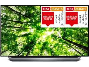 "TV OLED 55"" LG 55C8PLA - 4K, HDR 10, Smart TV, Dolby Atmos (Frontaliers Belgique)"