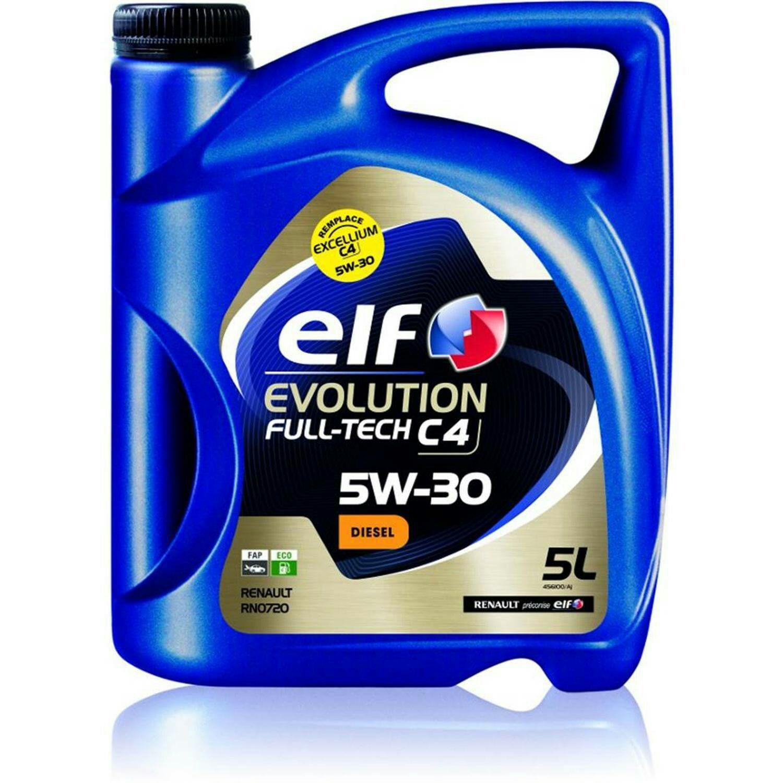 Huile moteur Evolution Full Tech 5w30 c4 - 5L