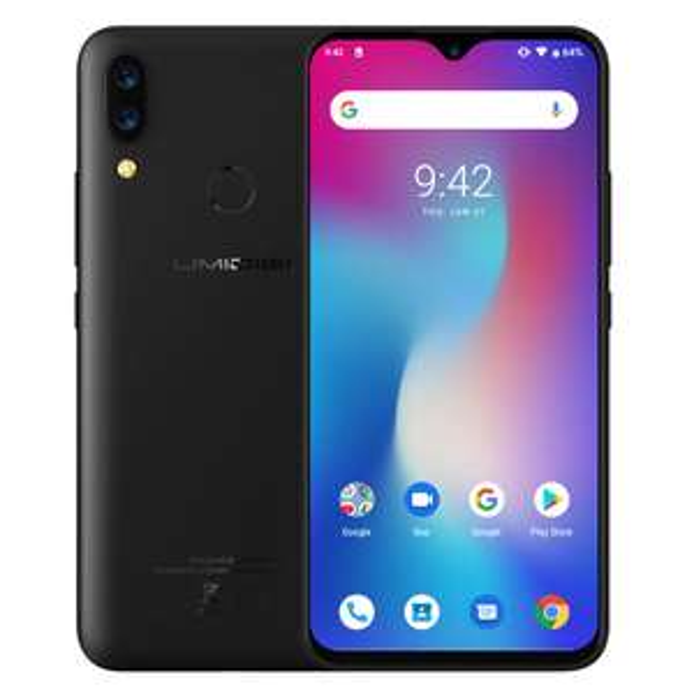 """Smartphone 6.3"""" Umidigi Power - 64Go, 4Go de RAM, 4G, 5150mAh (B20/B28)"""
