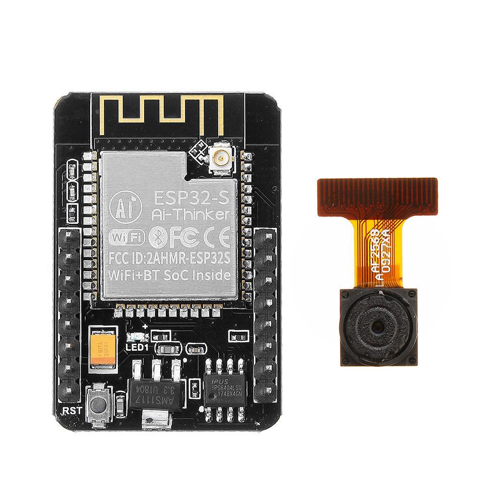 Carte de Dev ESP32-CAM plus caméra pour vidéo surveillance WiFi (Arduino)