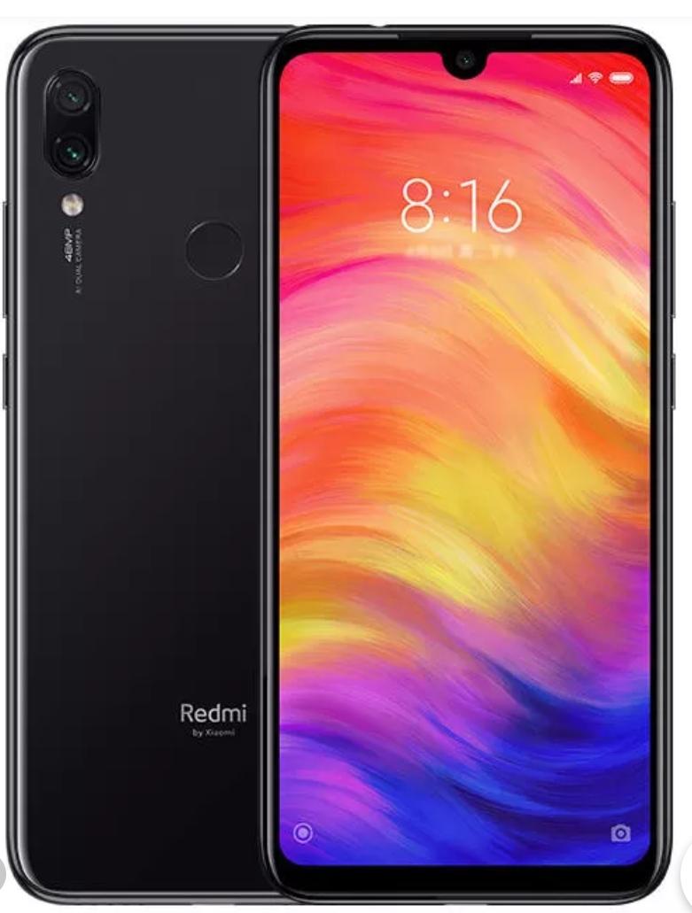 "Smartphone 6.3"" Xiaomi Redmi Note 7 (Global Version) - SnapDragon 660, RAM 4Go, 64Go, 4G (B20)"