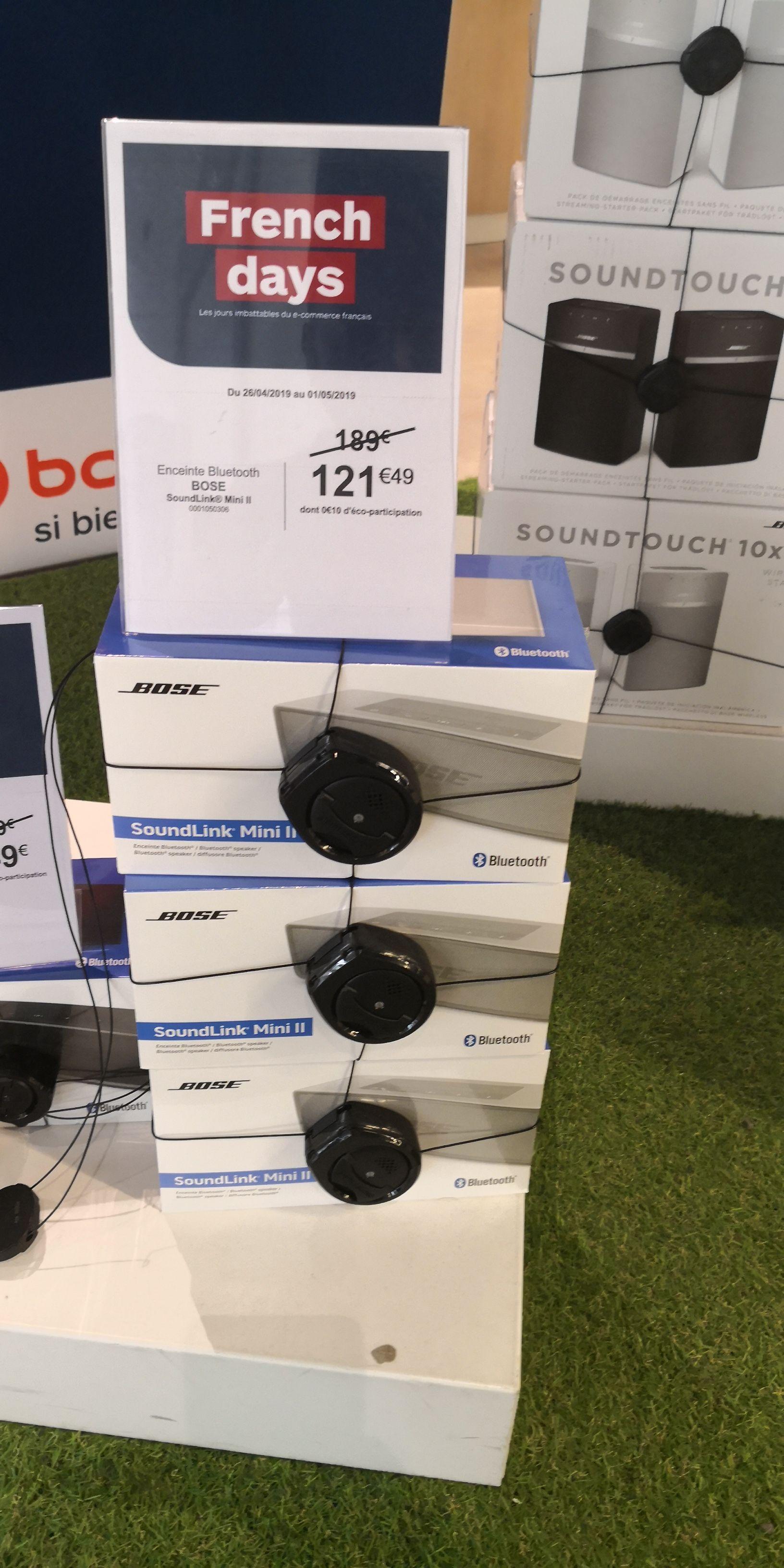 Enceinte Bluetooth Bose SoundLink Mini II (blanc) - Vélizy-Villacoublay (78)