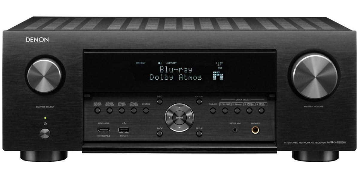 Ampli home-cinema Denon AVR-X4500H