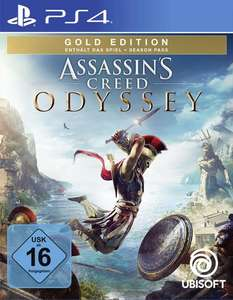 Assassin's Creed Odyssey - Gold Edition sur PS4 et Xbox One (Frontaliers Allemagne)