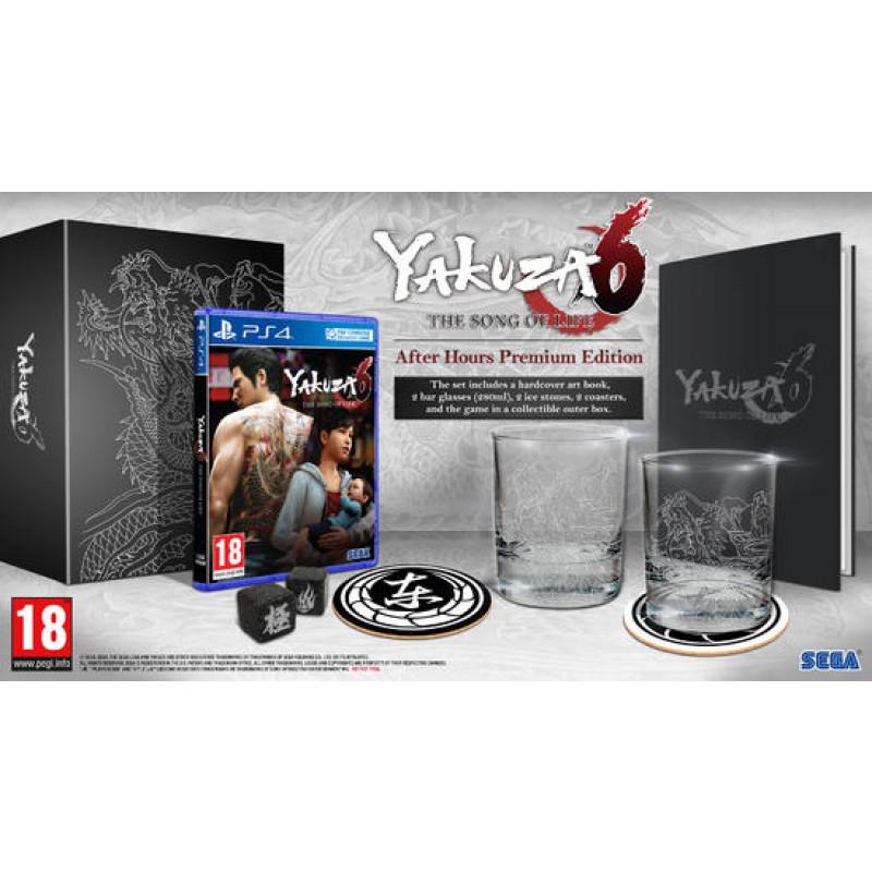 Yakuza 6 : The Song of Life - Premium Edition sur PS4 (via l'Application)