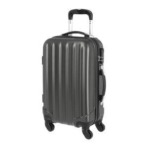 Valise en ABS 4 Roues (Gris Foncé) - 50x35x20 cm