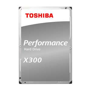"""Disque dur interne 3.5"""" Toshiba X300 - 5 To (7200 trs/min)"""