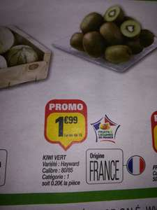 Lot de 10 Kiwis Hayward - Origine France