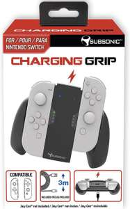 Charging Grip Subsonic pour Joycon Nintendo Switch