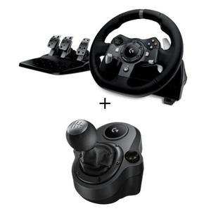 Volant Logitech G29 + Levier de Vitesse Driving Force Shifter pour PS3 & PS4