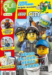 Magazine Gulli Le Mag n°45 + Lego City Garbage Truck Mini (30313) offert