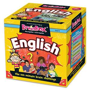 Jeu Brainbox Green Board Games G0990045 (Anglais - vendeur tiers)