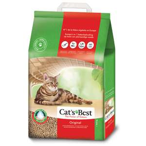 Litière Cat's Best Öko Plus / Original pour chat - 8.6kg