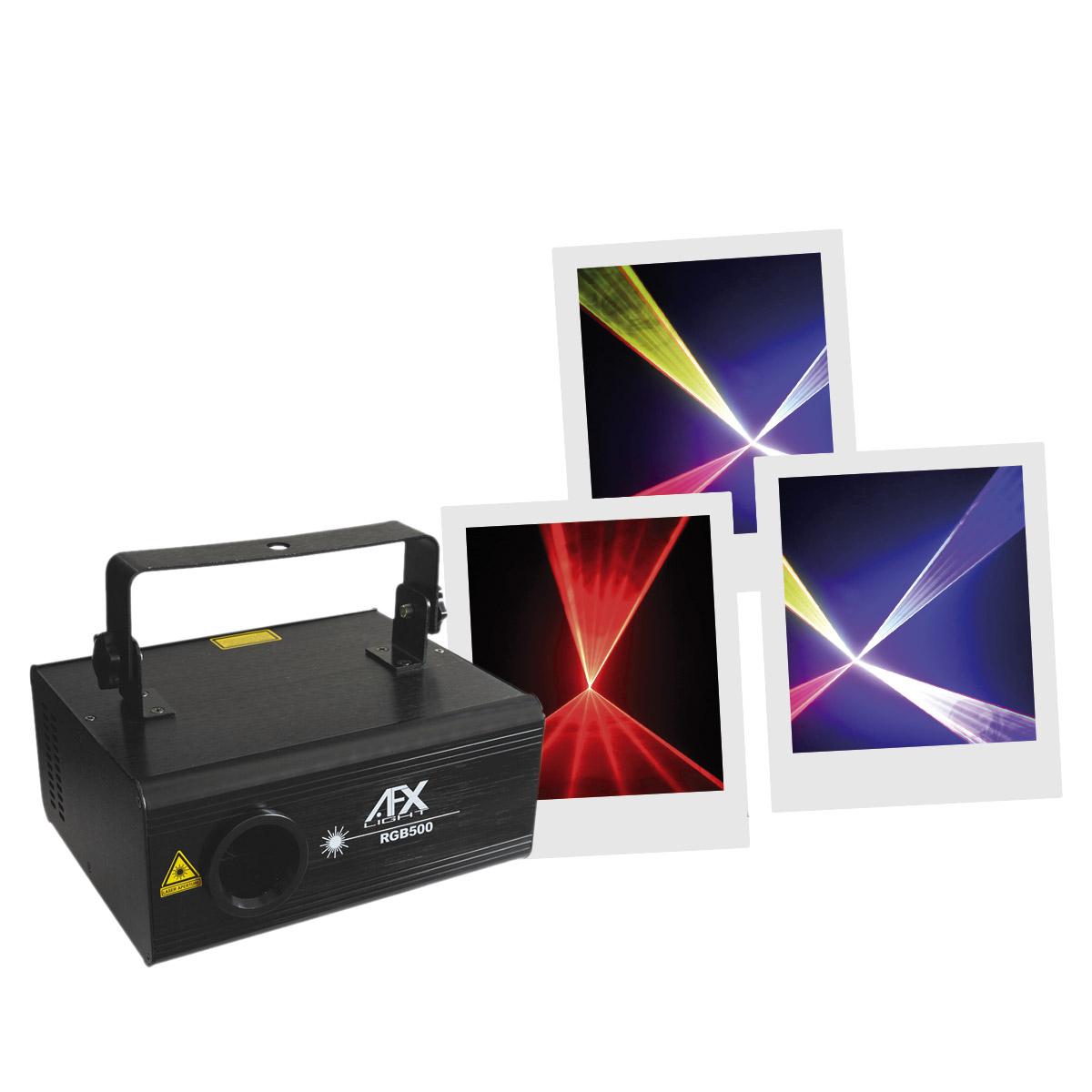 Laser Multicolore AFX Light - RGB500