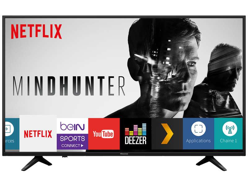 """Sélection de TV Hisense - Ex : 50"""" H50AE6030 - LED, 4K UHD, HDR 10, Smart TV (+ 60€ en bon d'achat Meuble/Déco)"""