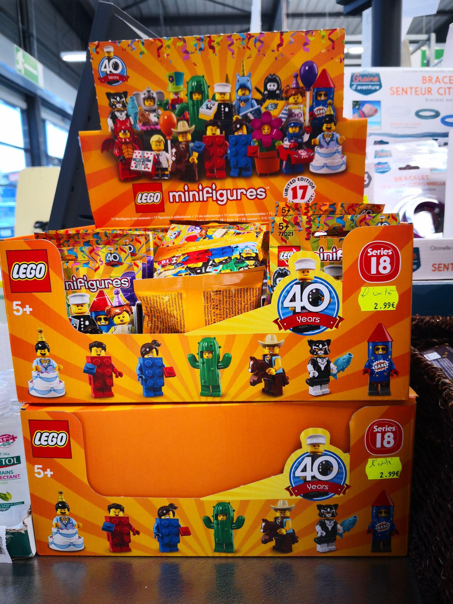 Minifigures Lego série 18 - Échirolles (38)