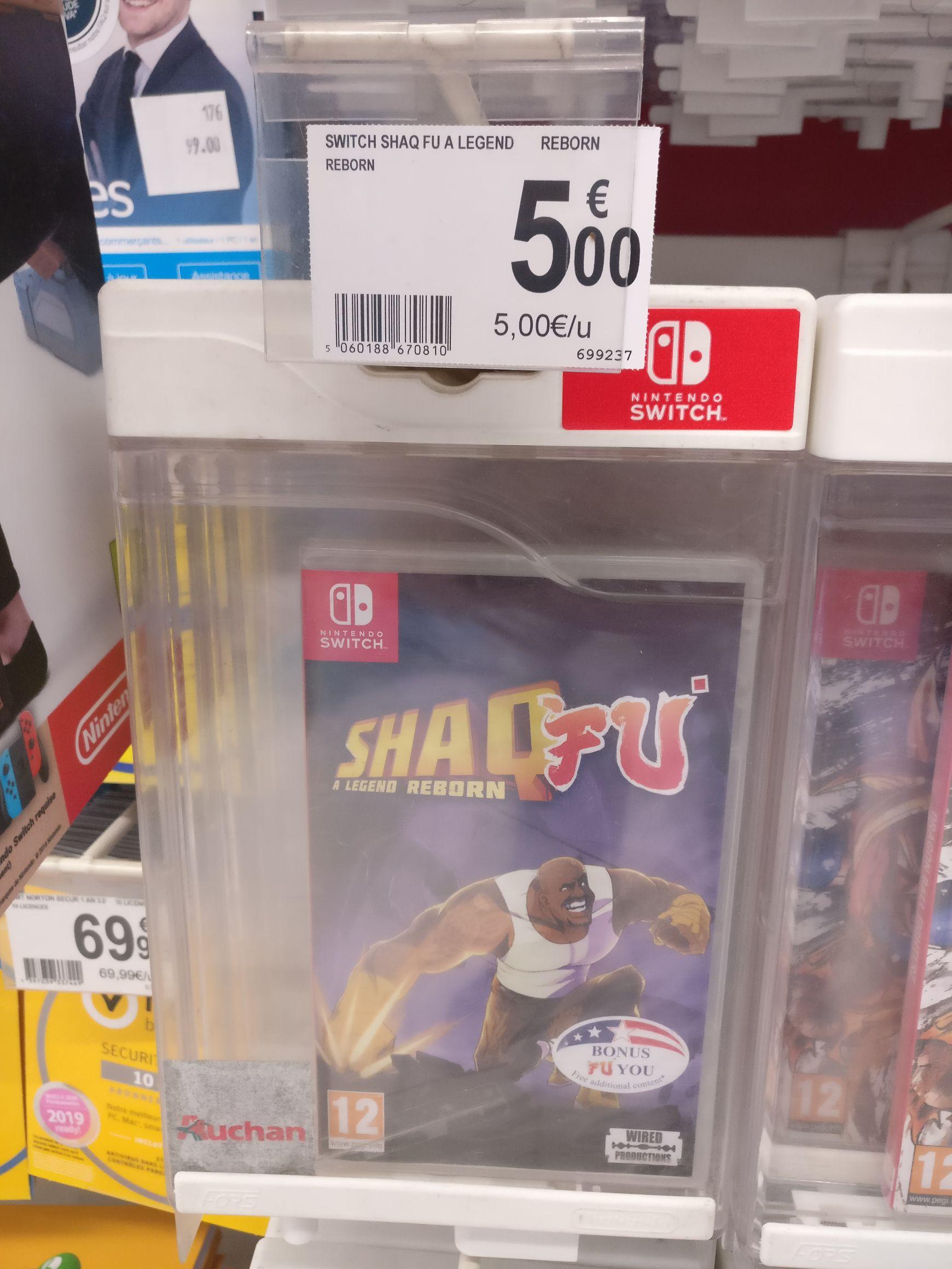 Jeu Shaq Fu - A legend reborn sur Nintendo Switch - Auchan Cognac (16)